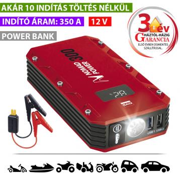 Nomad Power 300 lítiumion akkumulátoros indító